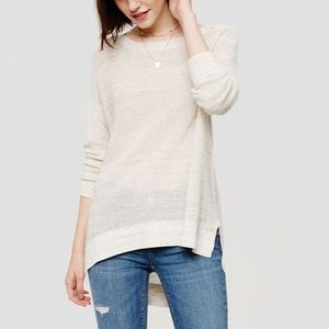 Lou & Grey Spacedye Oversized Slouchy Sweater